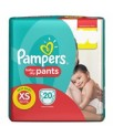 Pampers Active New Born Size S Baby Pants, 20N