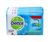 Dettol Cool Soap Pack, 3N (75 g Each)