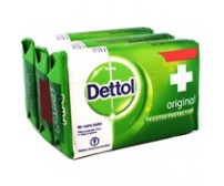 Dettol Original Soap, 3N (125 g Each)
