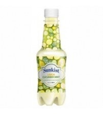Sunkist Lime Cucumber Mint Juice Bottle, 300 ml