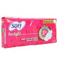 Sofy Regular Sanitary Napkin, 8N