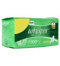 Whisper Large Sanitary Napkin, 30N