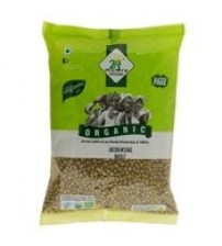 24 Mantra Organic Green Moong, 500 g