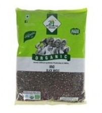 24 Mantra Organic Urad Black Split, 500 g