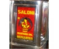 Saloni Mustard Oil Tin, 15 L